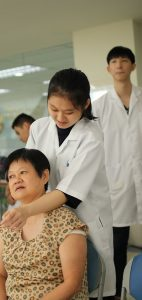 Showcasing a series of Traditional Chinese Medicine practices at IMU.