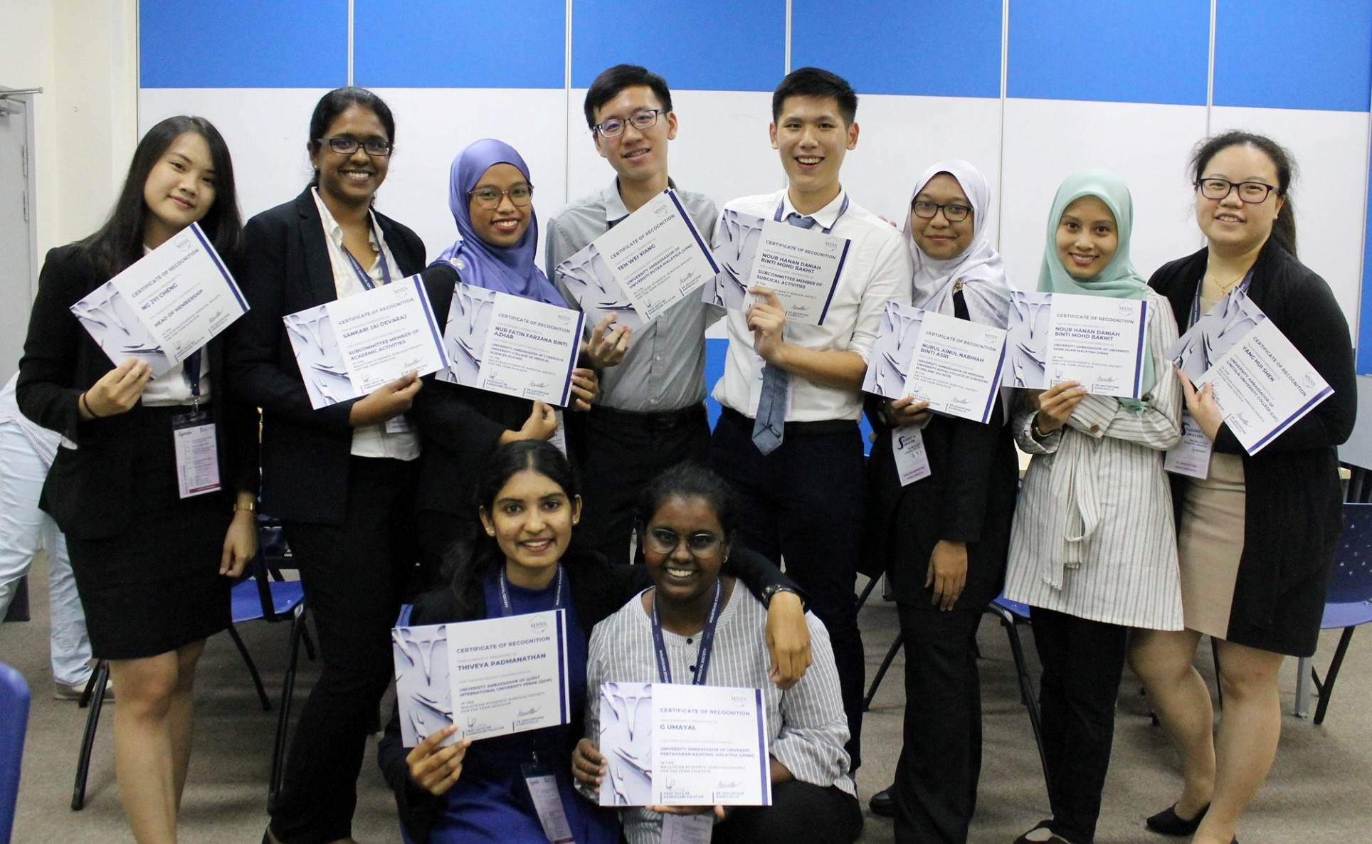 A student symposium with speeches, talks, sharing sessions and hands-on workshops at IMU Clinical Campus Seremban.