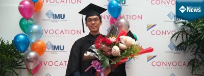 JPA Scholar and IMU's top student for the pharmacy programme shares his IMU experience.