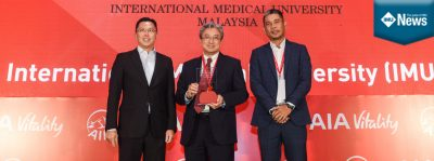 "he International Medical University (IMU) once again won two (2) awards under the ""2019 Malaysia's Healthiest Workplace"" by AIA Vitality. The awards received were the ""Healthiest Workplace"" and ""Healthiest Employer"" and for medium sized organisation category."