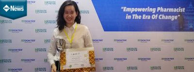 IMU Pharmacy Student wins an award at 5th Asian Young Pharmacists Group (AYPG) Leadership Summit.