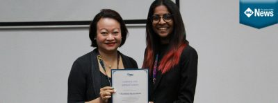 IMU Pharmacy Scholar, Vilashini Saravanan, shares her experience at IMU.