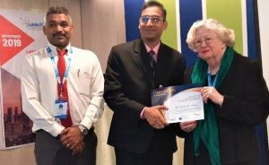 International conference saw IMU Senior Lecturer as Best Oral Presenter.
