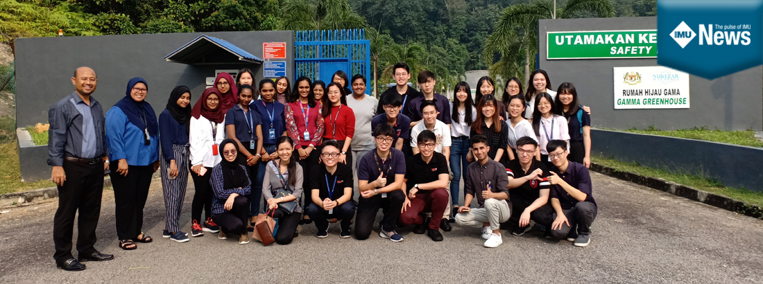 IMU Biomedical Science Semester 3 students learnt more about radiology on a field trip.