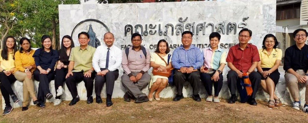 3 months industrial training at the Department of Drug Delivery System Excellence Centre Prince of Songkhla University, Thailand.