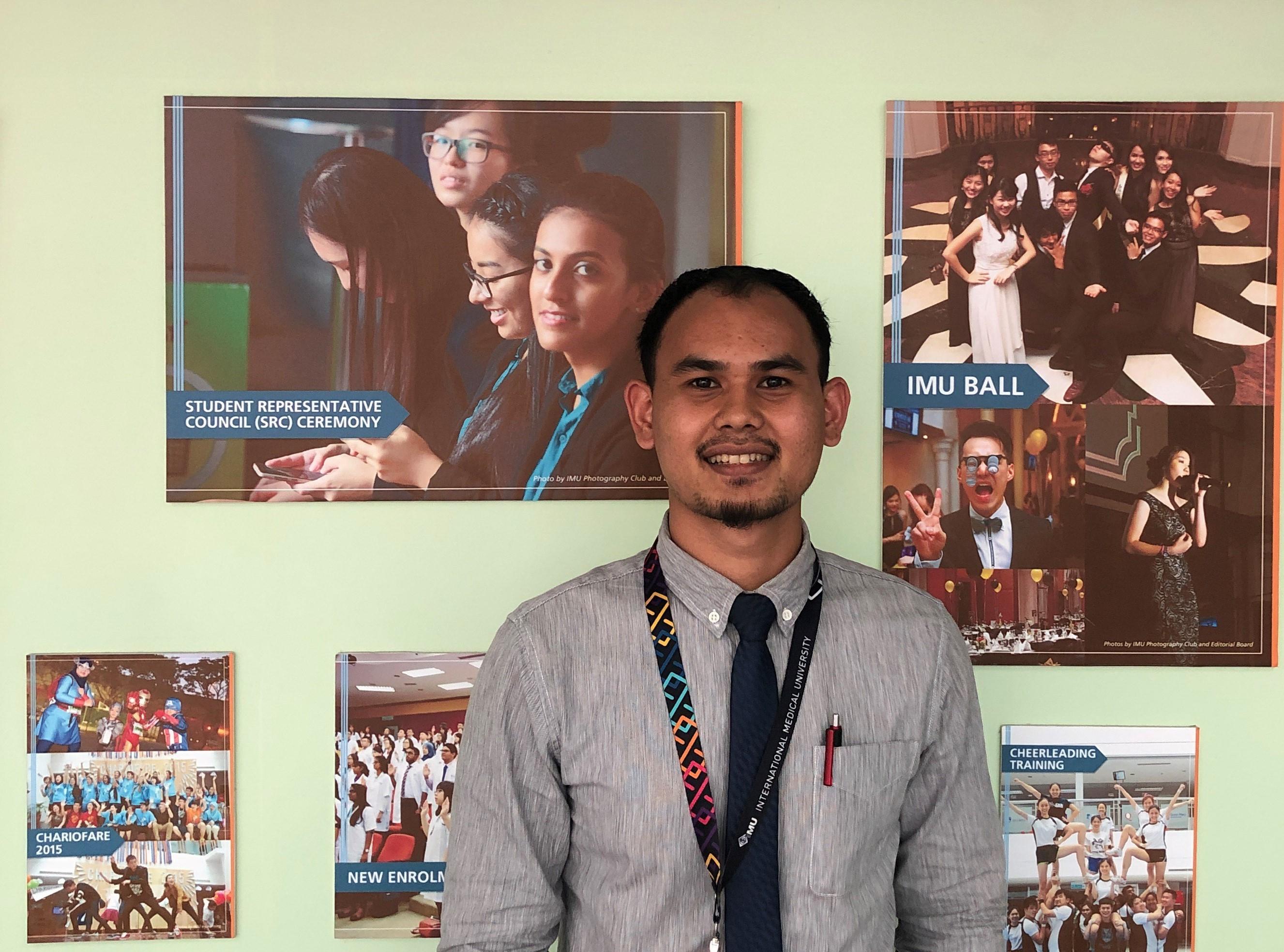 Muhamad Faizzuddin Razali shares his IMU journey.