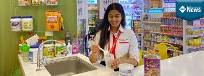 An IMU alumna, Raanita Krishnamoorthy, shares her experience working as a nutritionist in a pharmacy.