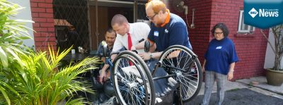 An IMU Cares project for the wheelchair user community.