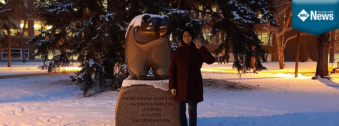Akhila Eswaran shares her experience at an internship in the Centre for Prions and Protein Folding Diseases at the University of Alberta in Canada.