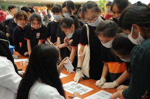 Interesting activities and a talk at the annual IMU Biomedical Science Day.