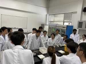 A workshop for IMU Medical Biotechnology students in the techniques of handling laboratory animals ethically and professionally.