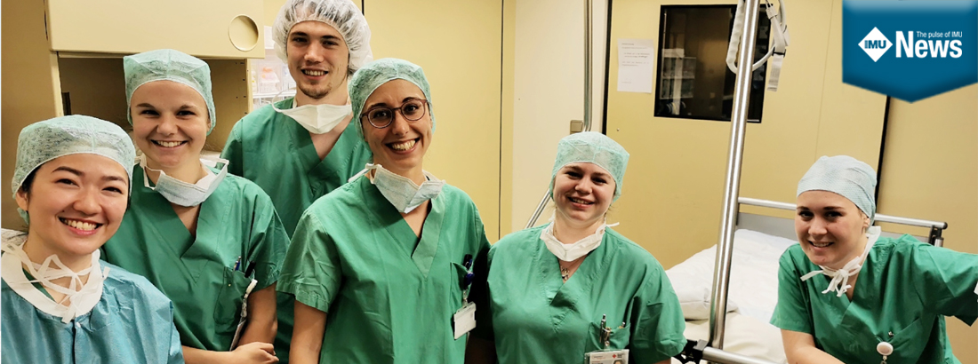 An IMU Nursing alumna shares her journey towards working as a nurse in Germany.