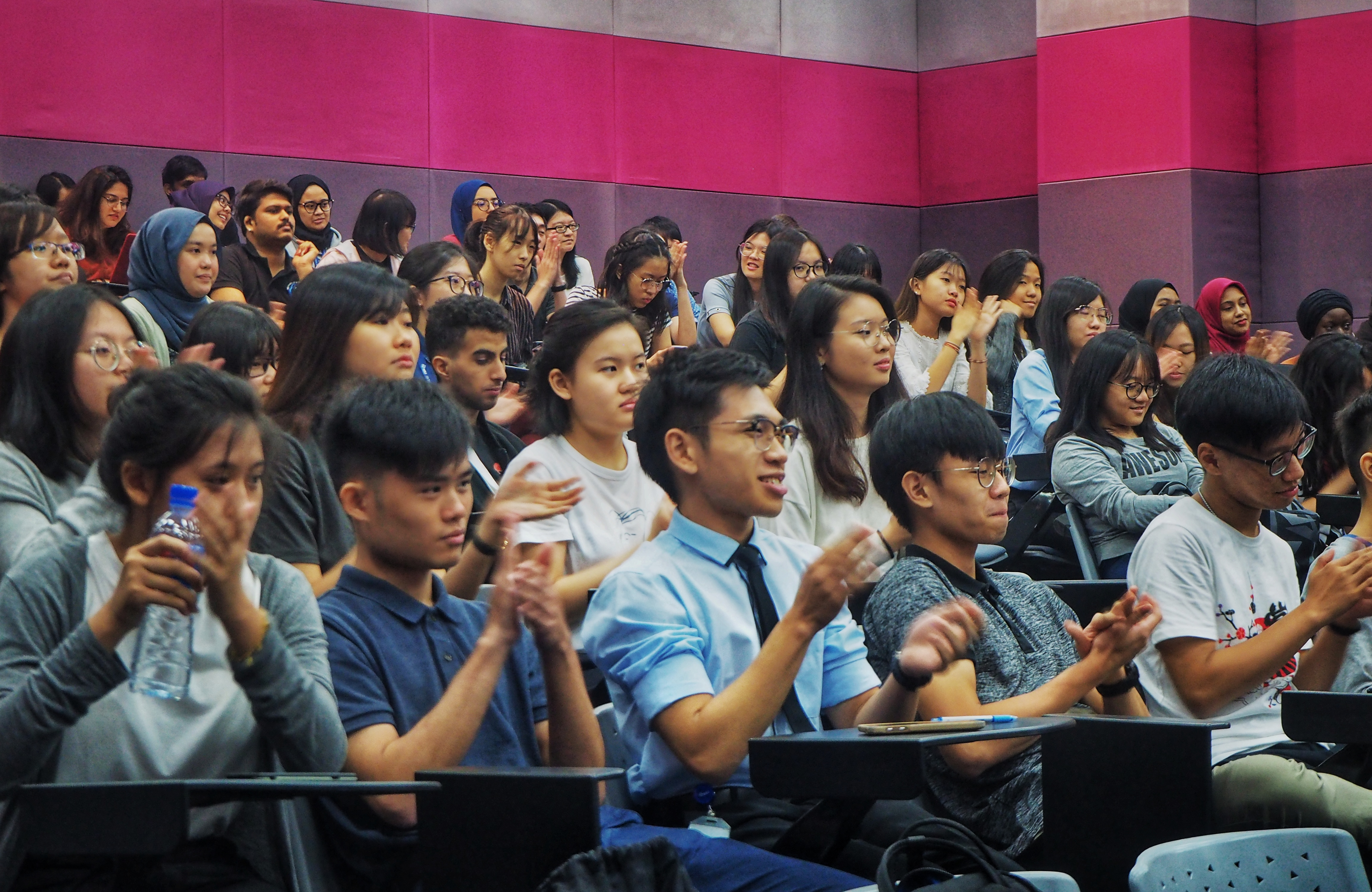 A sharing session and forum for IMU Biomedical Science students.