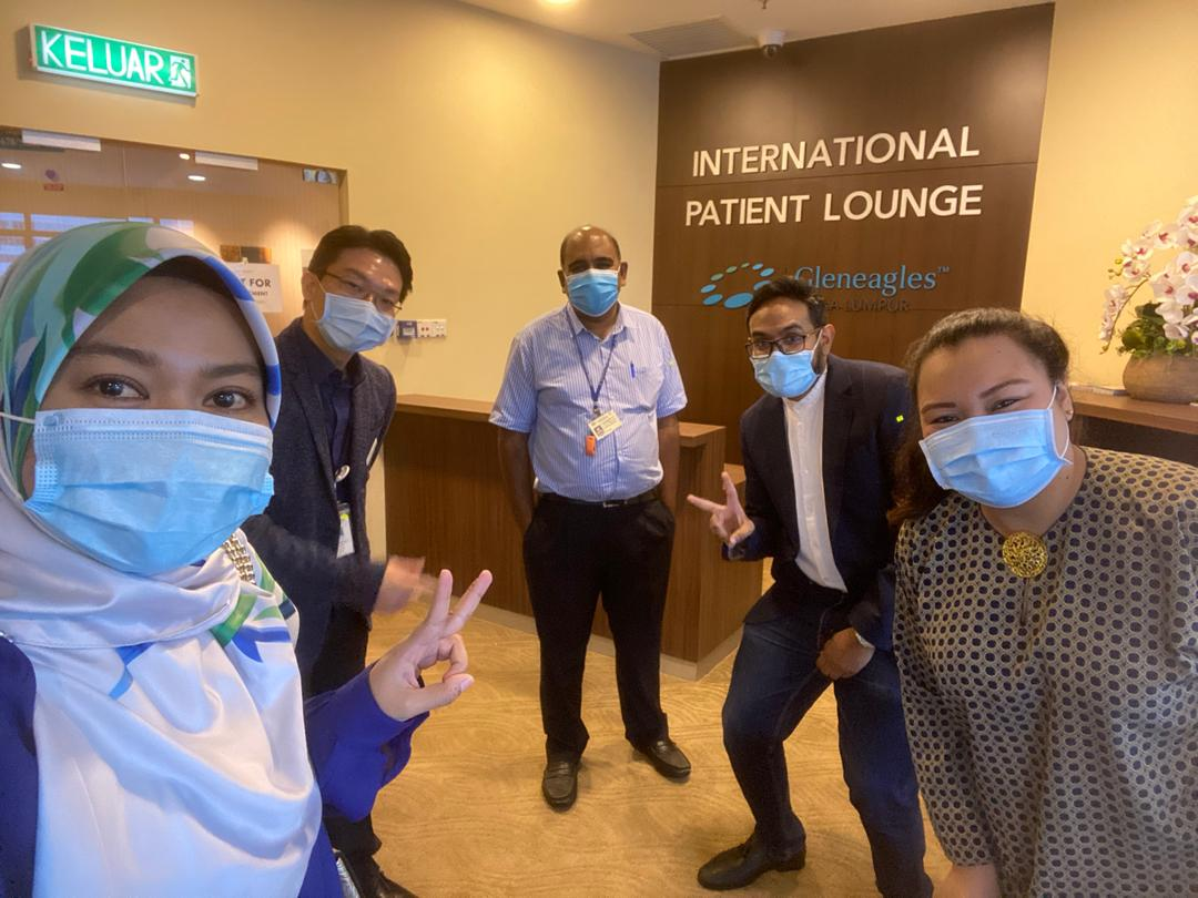 IMU MBA in Healthcare Management students learns about Strategic Positioning and Leadership at an insightful visit to Gleneagles Hospital Kuala Lumpur.