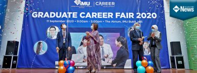 A synchronised version of IMU Graduate Career Fair 2020 - face to face, virtual platform
