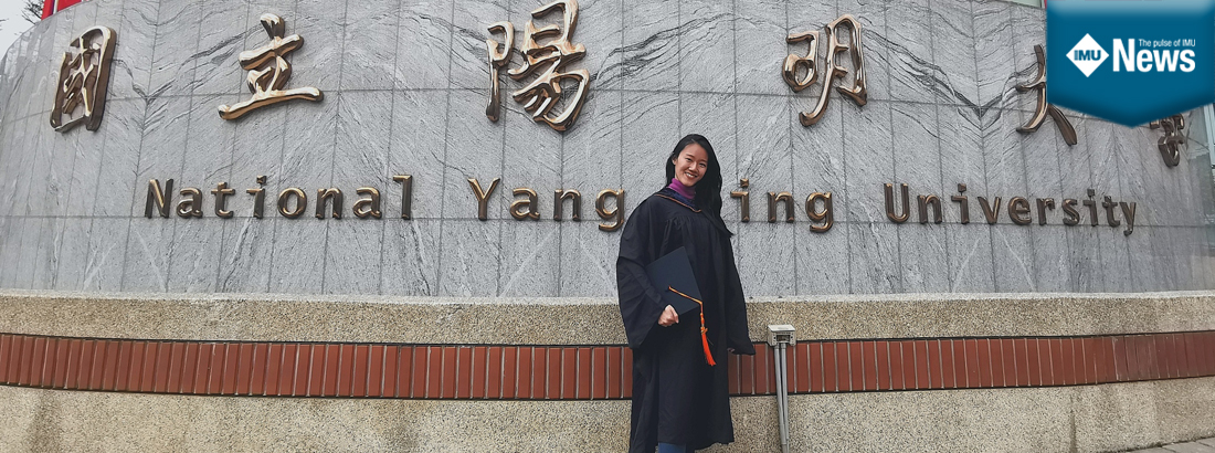 Lim Xue Zhen (Susan) shares her experience studying her Master's degree in Taiwan after graduating with an IMU biomedical science degree.