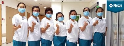 An IMU Nursing alumna shares her experience taking care of COVID-19 patients.