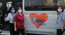 An IMU Cares project at Ti-Ratana Desa Petaling