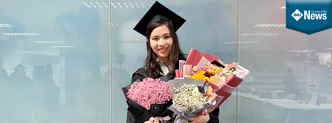 Vanessa Liew Hui Shan relates her journey at IMU from Foundation in Science to Provisional Registered Pharmacist (PRP) Research & Development Academia track.