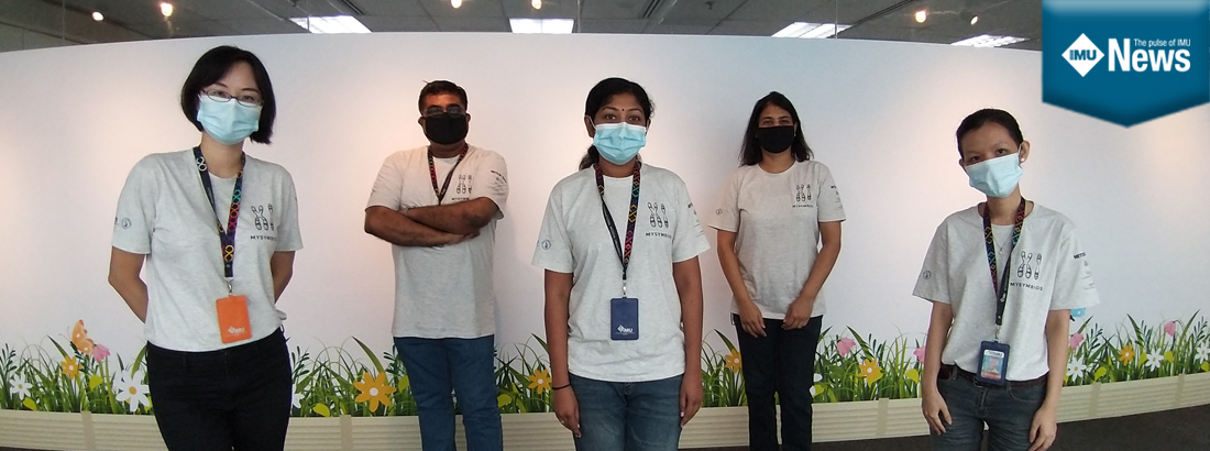 IMU organised a virtual Malaysian Symposium of Biomedical Science with exciting competitions!