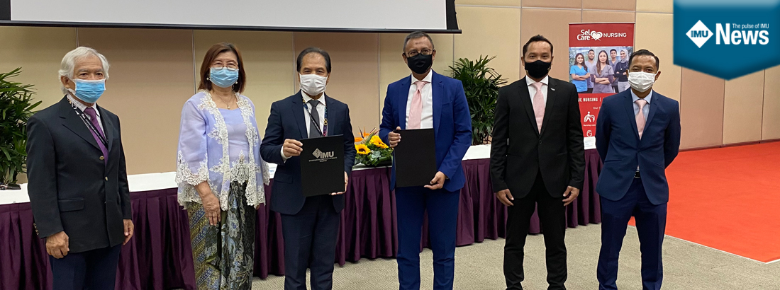 Aa agreement between Selgate Healthcare Sdn Bhd and IMU to cater to the supply and demand of skilled and professional manpower.